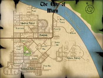 The city of Marn